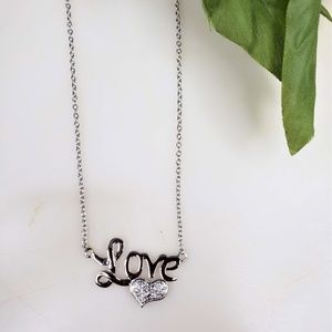 925 sterling love necklace